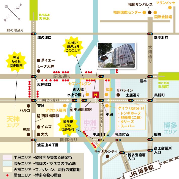 当館周辺マップ